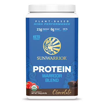 Warrior Blend Chocolate 30 servings Sunwarrior