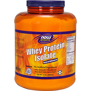 Whey Protein Isolate (Unflavored) 5 lbs