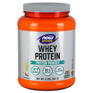 Now Foods Whey Protein (Natural Vanilla) 2 lbs