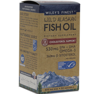 Wild AK Fish Oil Chol Supp 90 softgels Wiley's Finest