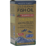 Wild Alaskan Beginner DHA 4.23 fl oz Wiley's Finest