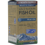 Wild Alaskan Peak EPA 120 softgels Wiley's Finest