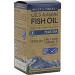 Wild Alaskan Peak EPA 60 softgels Wiley's Finest