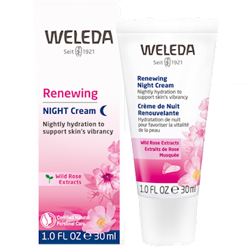 Wild Rose Smoothing Night Cream 1 fl oz