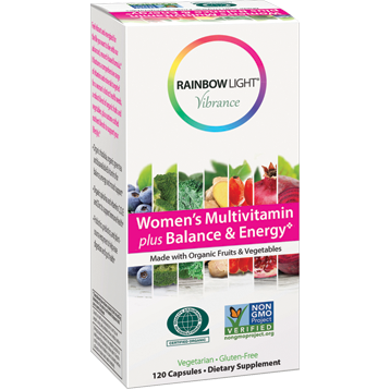 Women's Multi Balance En Org 120 vegcaps Rainbow Light Nutrition