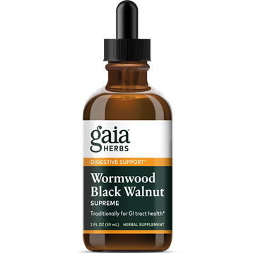Wormwood Black Walnut Supreme 2 oz Gaia Herbs