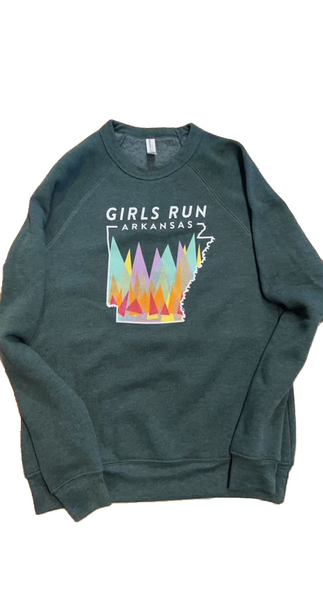 Girls Run Arkansas Sweatshirt