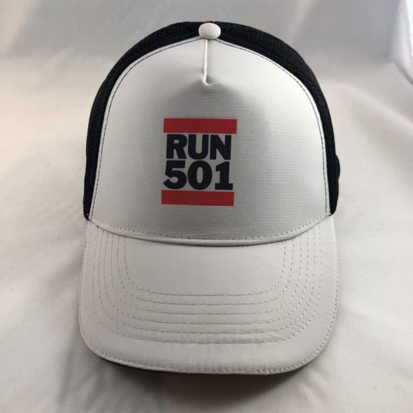 RUN 501 Mesh Trucker Cap