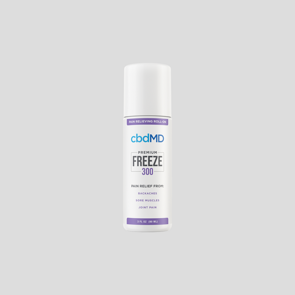 cbdMD Freeze Pain Relief Gel 300mg