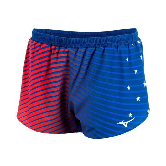 Mizuno Patriotic 2.5 inch Split Short - Women's