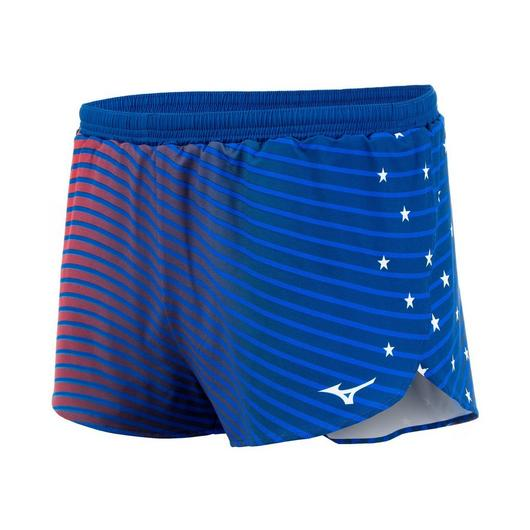 Mizuno Patriotic 2 inch Split Short - Men's