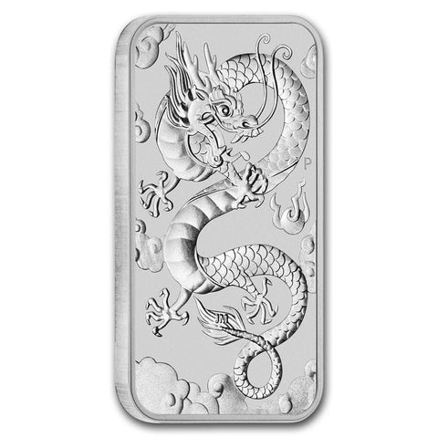 Silver Dragon Coin 2019 Australia 1 oz BU