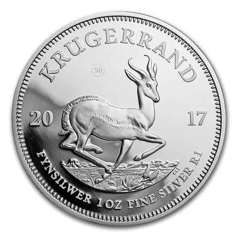 2017 1 oz Silver Krugerrand Proof