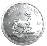 Lunar Silver coin | 2019 Krugerrand Crown and Tickey set - Cheeky Mongoose