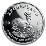 2019 South Africa 1 oz Silver Krugerrand Proof - Cheeky Mongoose