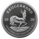 2020 South Africa 1 oz Proof Silver Krugerrand Coin