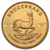 1/2 oz Gold Krugerrand - Cheeky Mongoose