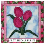 137 Trio of Tulips