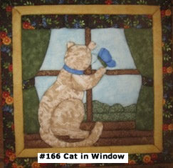166 Cat in Window