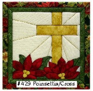 429 Poinsettia/Cross