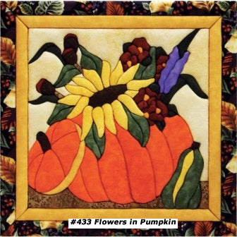 433 Flowers in Pumpkin