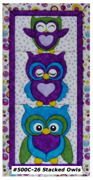 500C-26 Stacked Owls