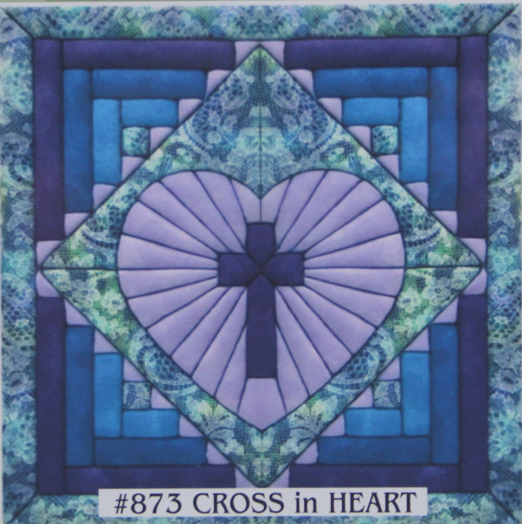 873 Cross in Heart