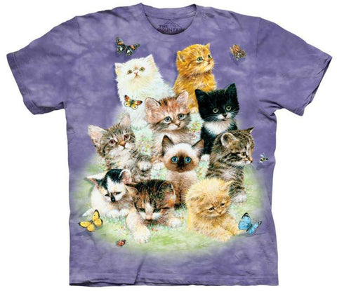 Kitten T-Shirt | 10 Kittens Adult-Gifts from DePanda