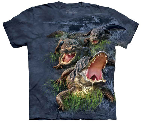 Alligator T-Shirt | Gator Bog Adult-Gifts from DePanda