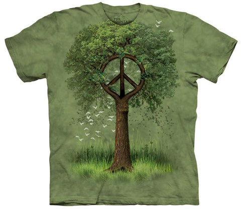 Peace T-Shirt | Roots of Peace Adult-Gifts from DePanda