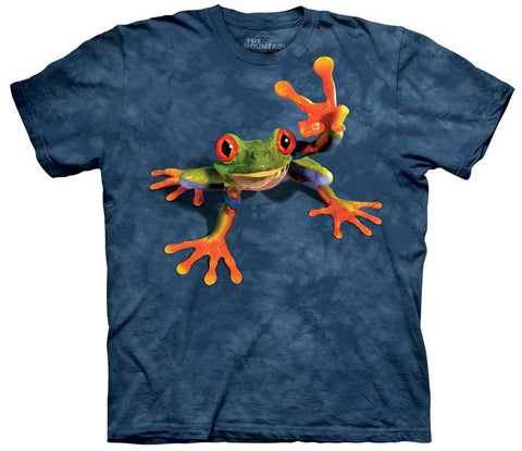 Frog T-Shirt | Victory Frog Adult-Gifts from DePanda
