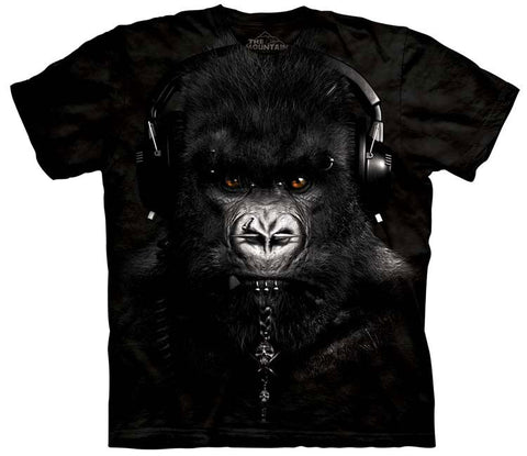Gorilla T-Shirt | DJ Caesar Adult-Gifts from DePanda