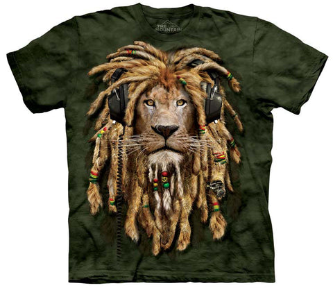 Lion T-Shirt | DJ Jahman Adult-Gifts from DePanda