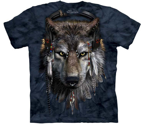 Wolf T-Shirt | DJ Fen Adult-Gifts from DePanda