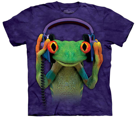 Frog T-Shirt | DJ Peace Adult-Gifts from DePanda