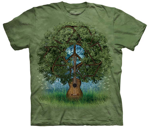 Celtic T-Shirt | Guitar Tree Adult-Gifts from DePanda