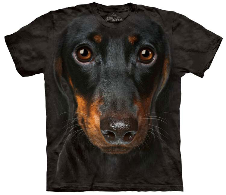 Dog T-Shirt | Dachshund Head Adult