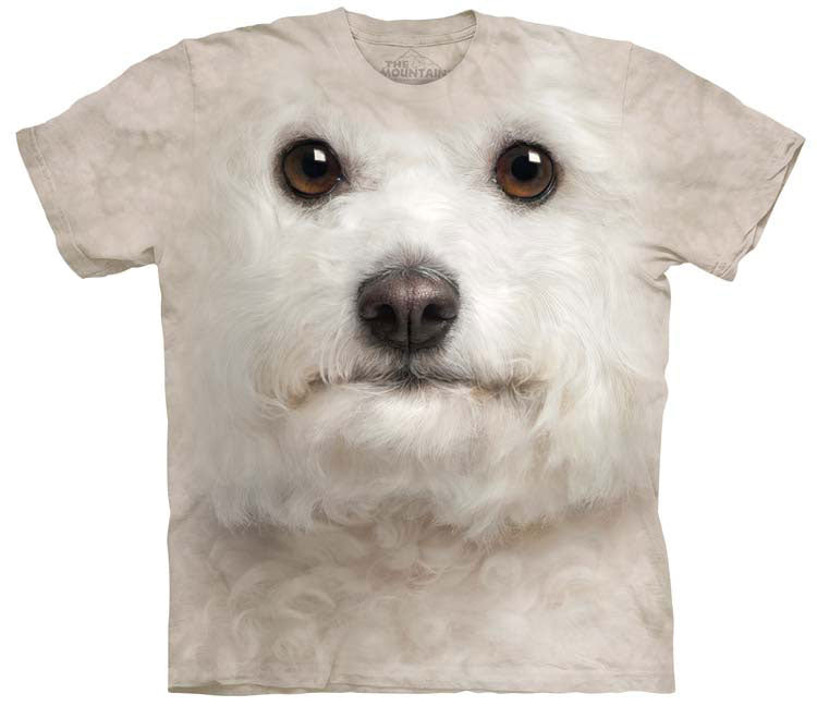 Dog T-Shirt | Bichon Frise Face Adult