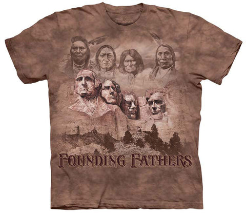 Indian T-Shirt | The Founders Adult-Gifts from DePanda