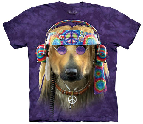 Dog T-Shirt | Groovy Dog Adult-Gifts from DePanda