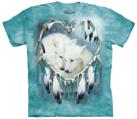 Wolf T-Shirt | Wolf Heart Adult-Gifts from DePanda