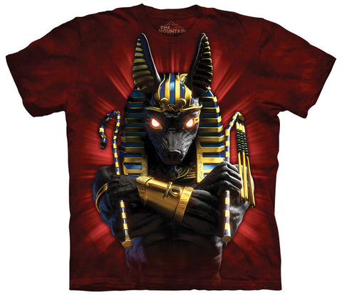 Mountain T-Shirt | Anubis Soldier Adult-Gifts from DePanda