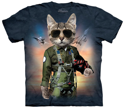 Cat T-Shirt | Tom Cat Adult-Gifts from DePanda