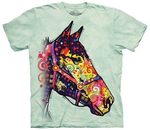 Horse T-Shirt | Funky Horse Adult-Gifts from DePanda