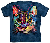 Cat T-Shirt | Patches the Cat Adult-Gifts from DePanda