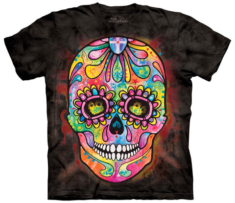 Skull T-Shirt | Day of the Dead Adult-Gifts from DePanda