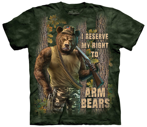 2nd Amendment T-Shirt | Arm Bears Adult-Gifts from DePanda