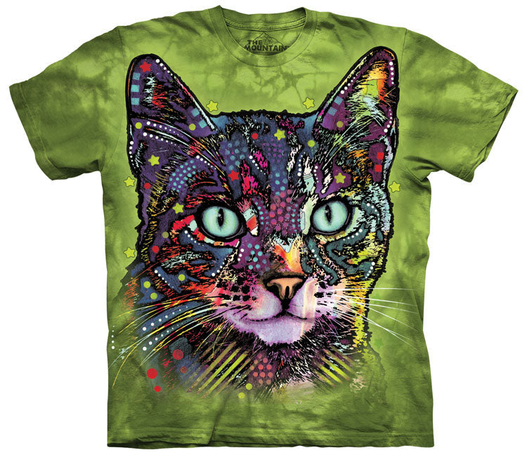 Cat T-Shirt | Watchful Cat Adult-Gifts from DePanda