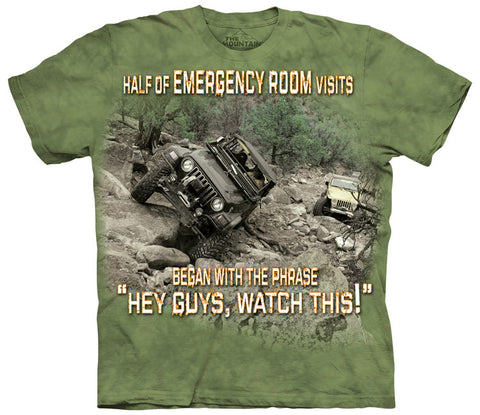 4WD T-Shirt | Hospital Outdoor Adult-Gifts from DePanda