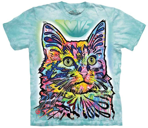 Cat T-Shirt | Angora Adult-Gifts from DePanda